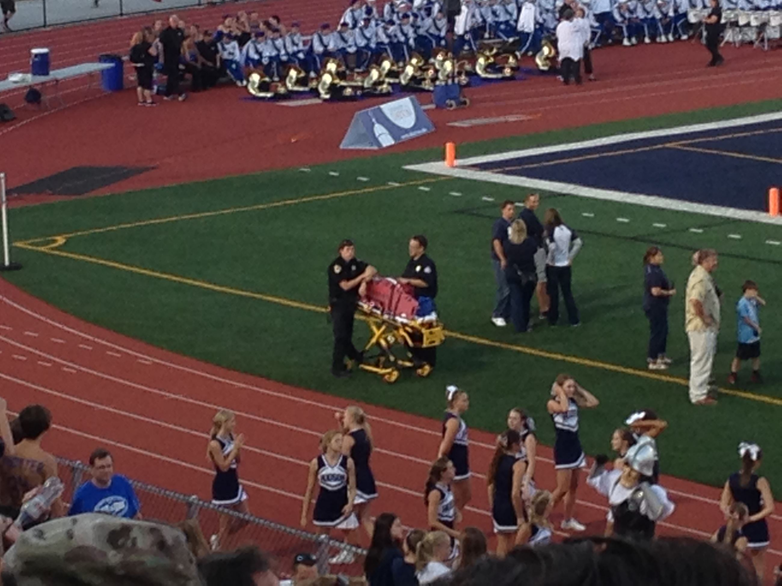 Hudson EMS at Football game 2014