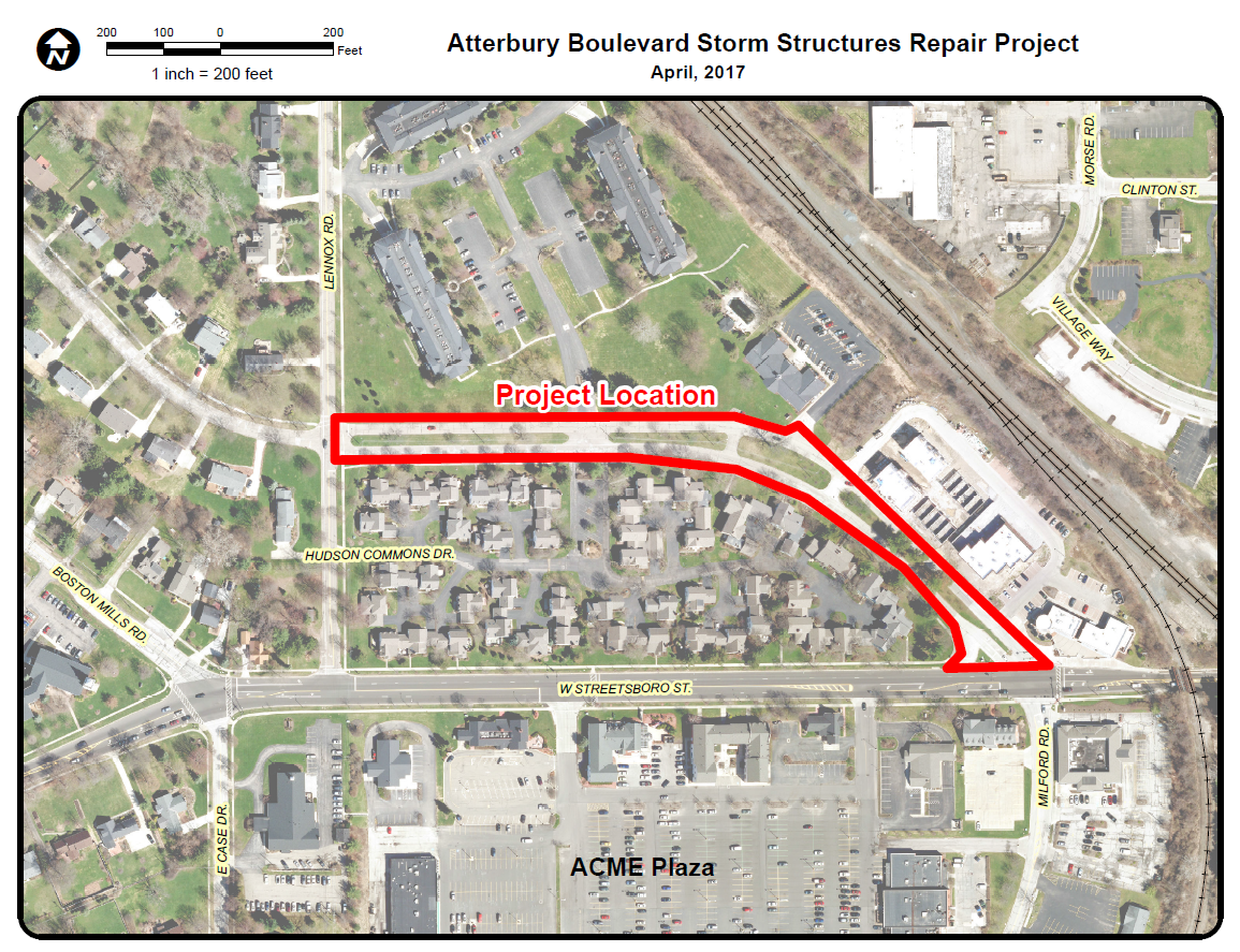 Atterbury Storm Sewer 2017
