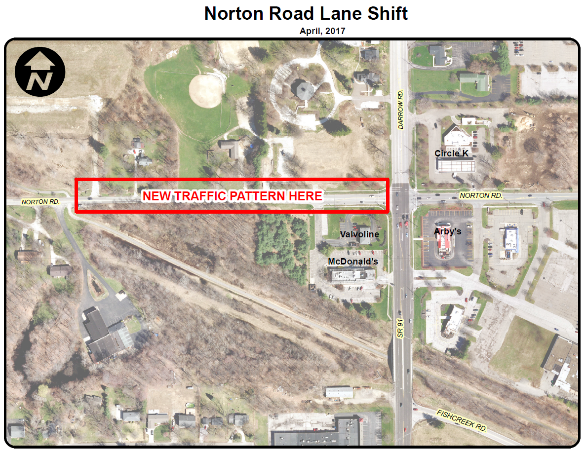 SR 91 Norton New Lane Shift