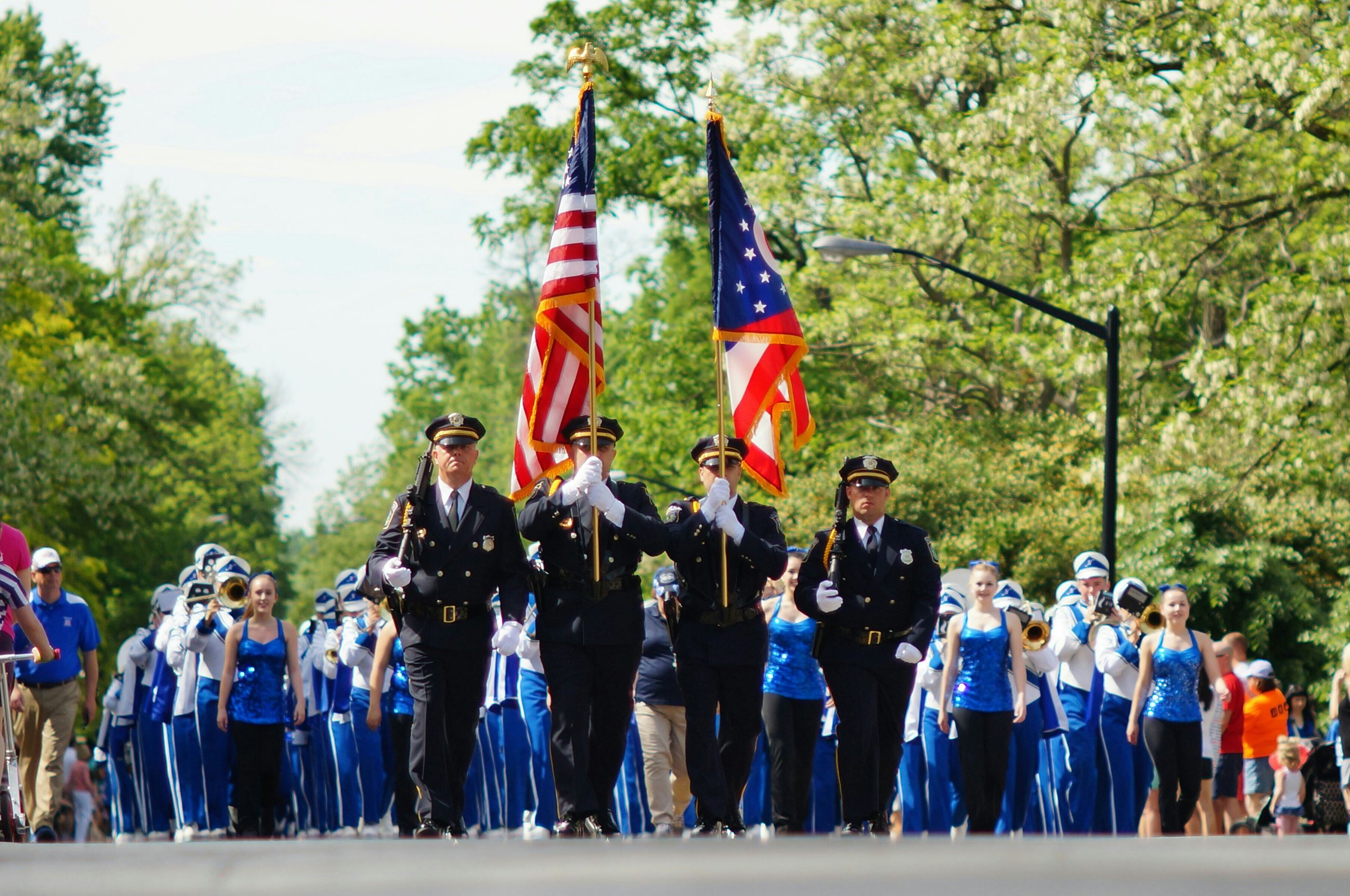 HPD Color Guard Memorial Day 2016