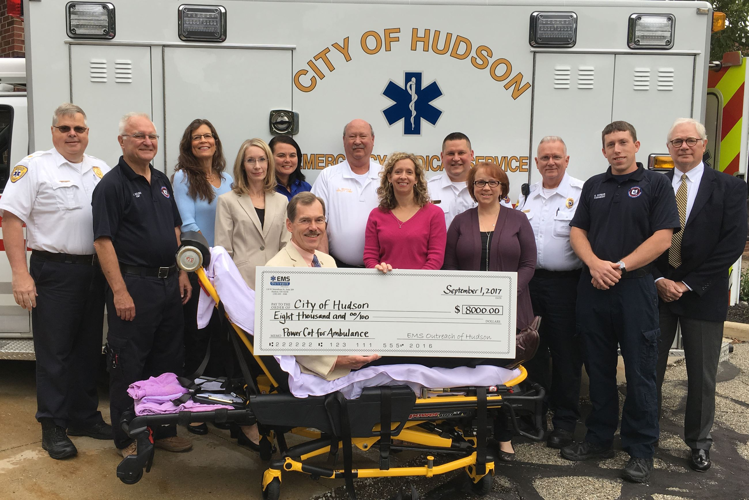 EMS Power Cot Check Presentation