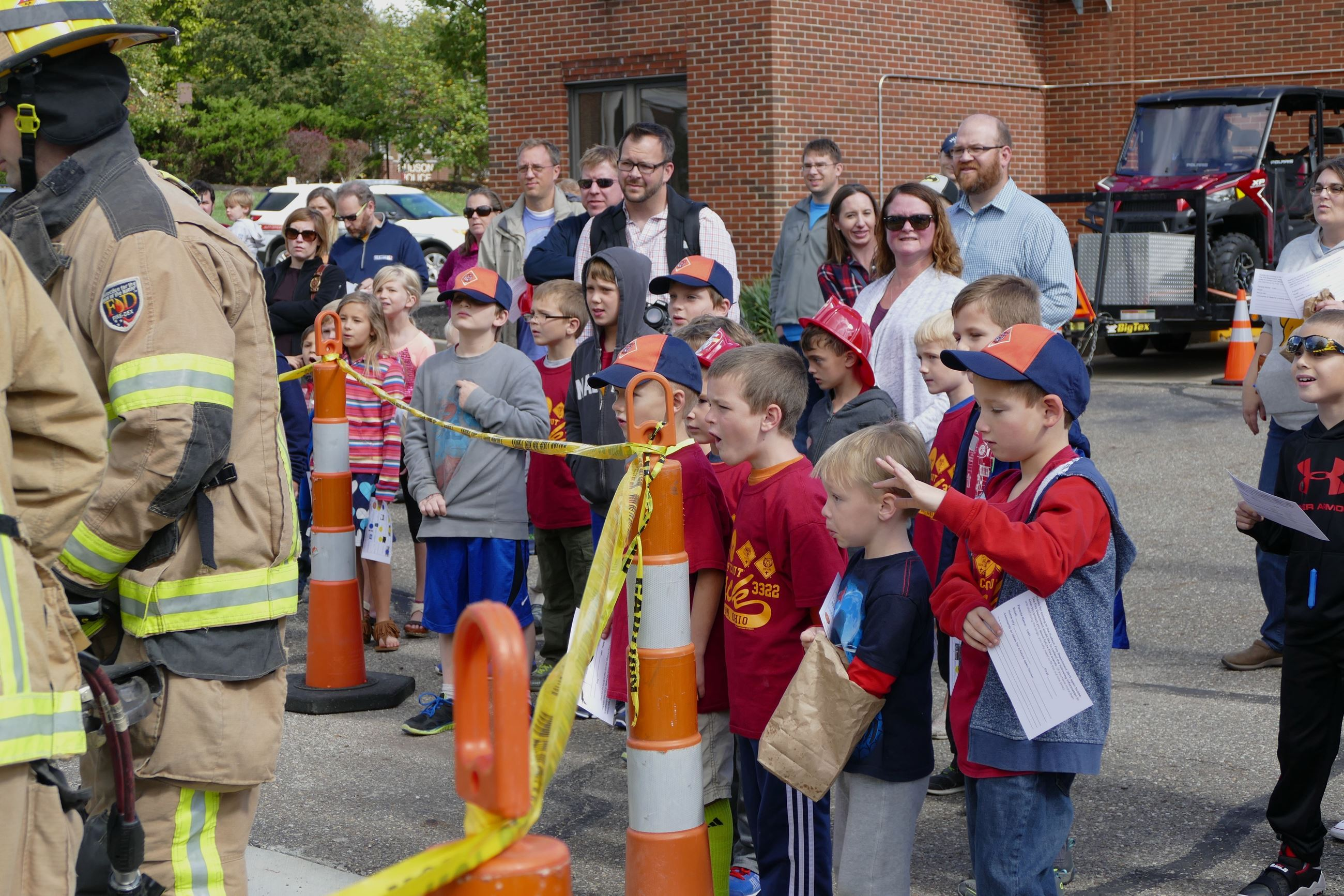 2016 Fire Open House
