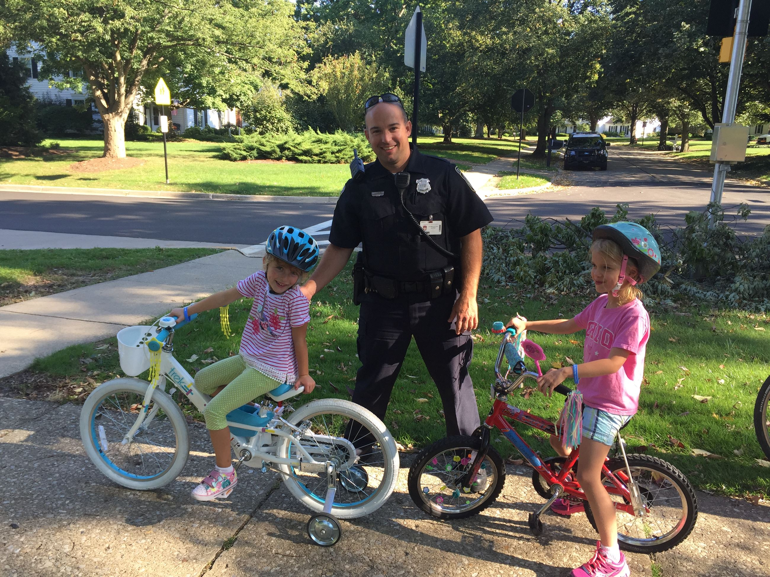 Walk Bike to School Day 2016