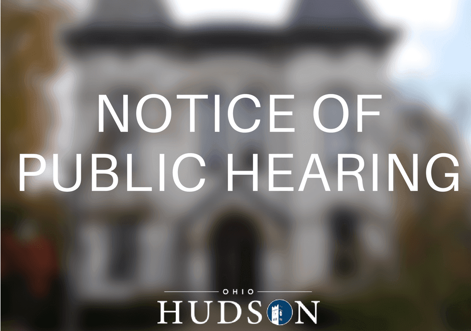 Notice of Public Hearing (3)