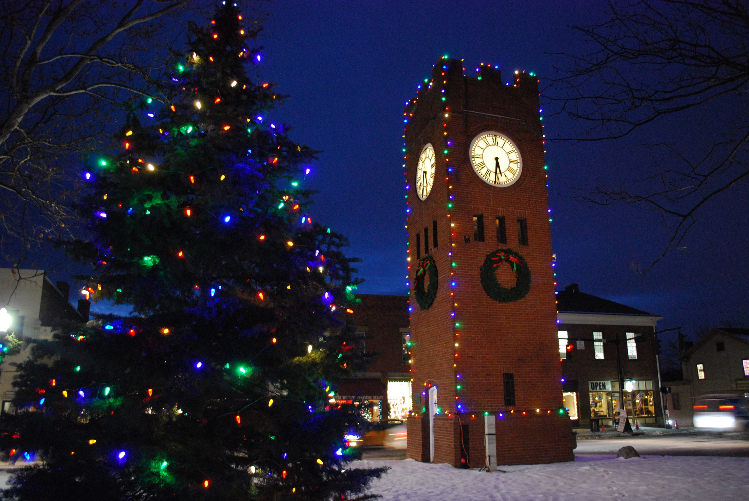 Clock Tower Winter