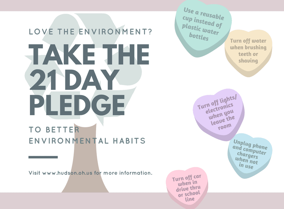 21 Day Pledge