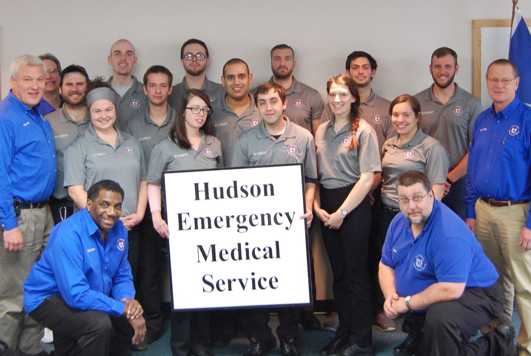 Fall 2017 EMT Class Photo