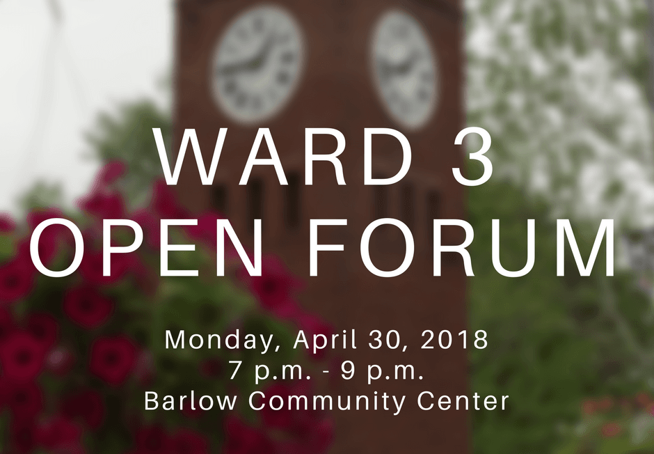 Ward Open Forum