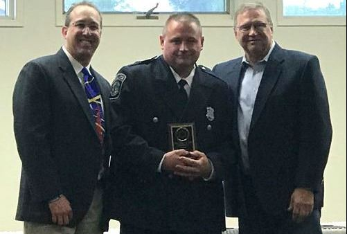 Officer Joe McFeely Top Cop Award