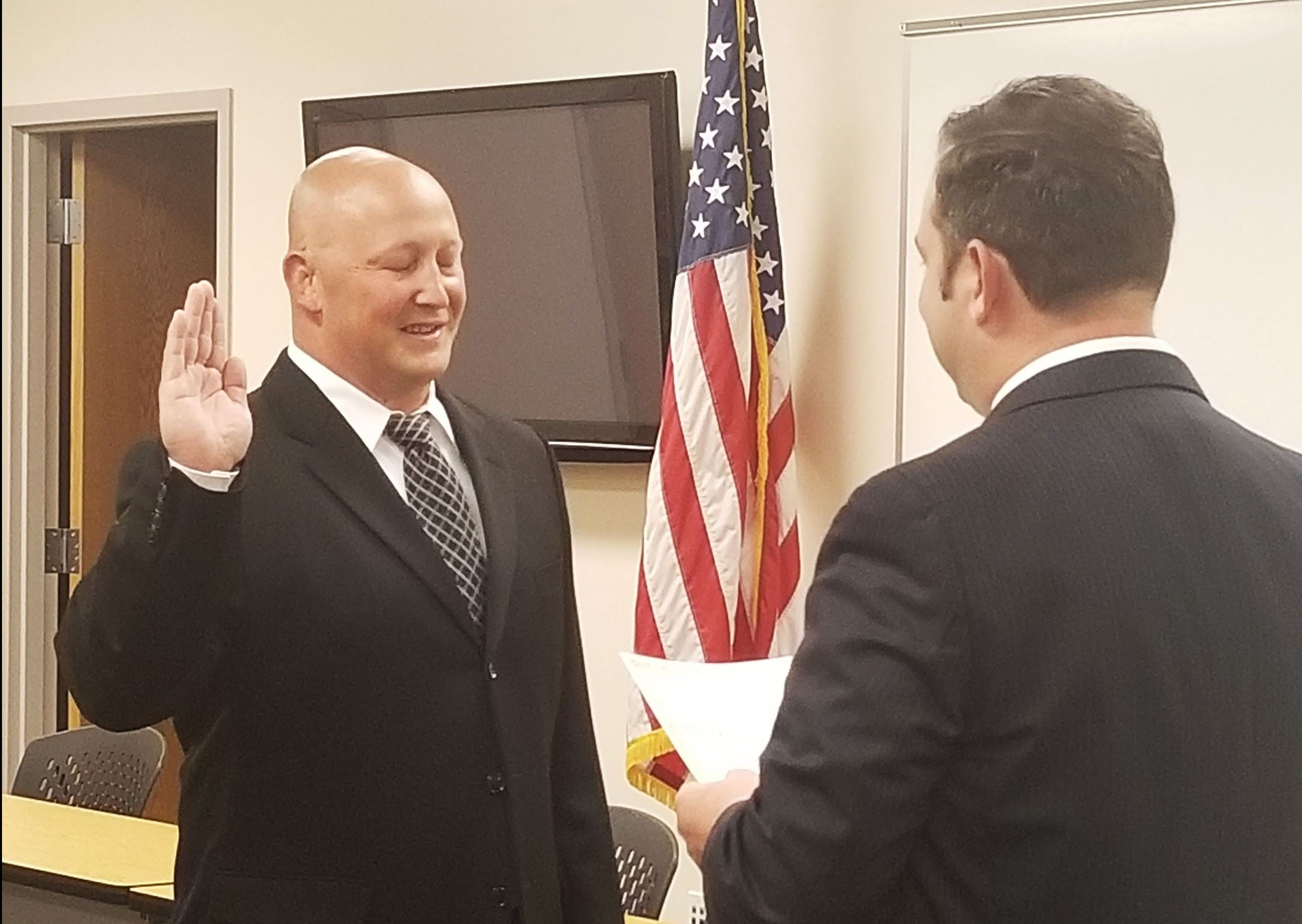 Swearing In - Jason Tentler 8-15-2018