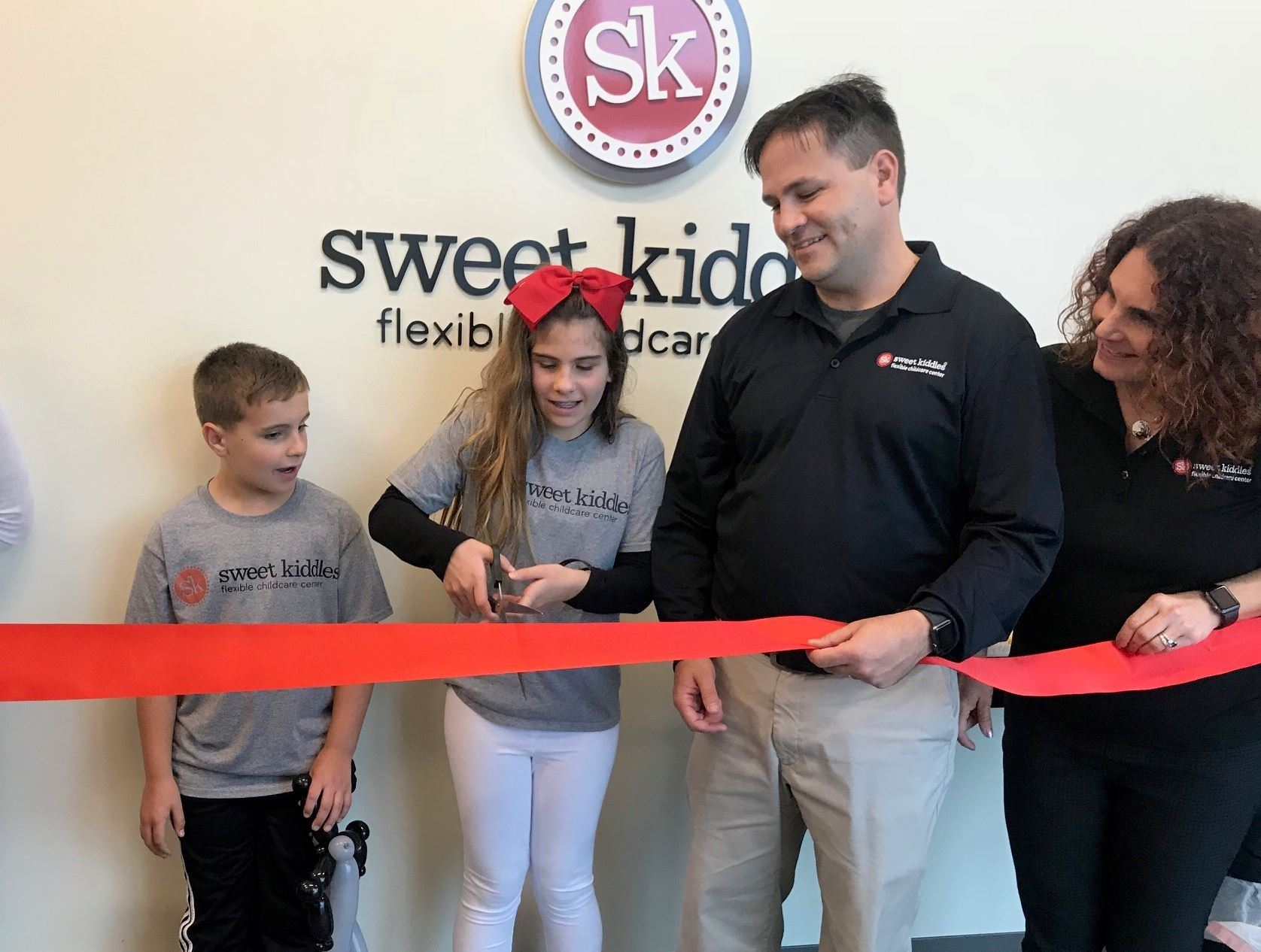 Sweet Kiddles Ribbon Cutting