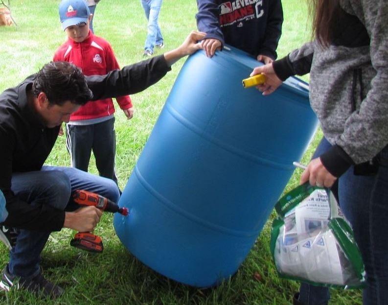 Green on Green Rain Barrel  Workshop