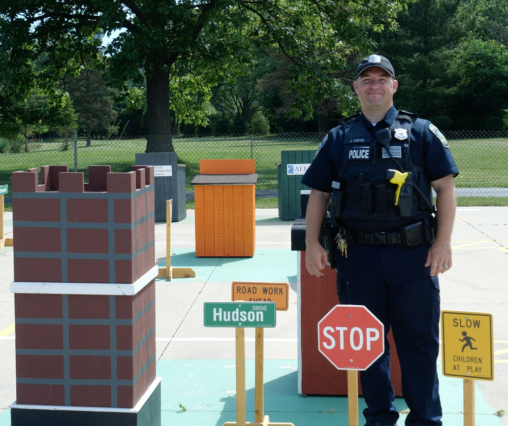 Safety Town Officer Jim