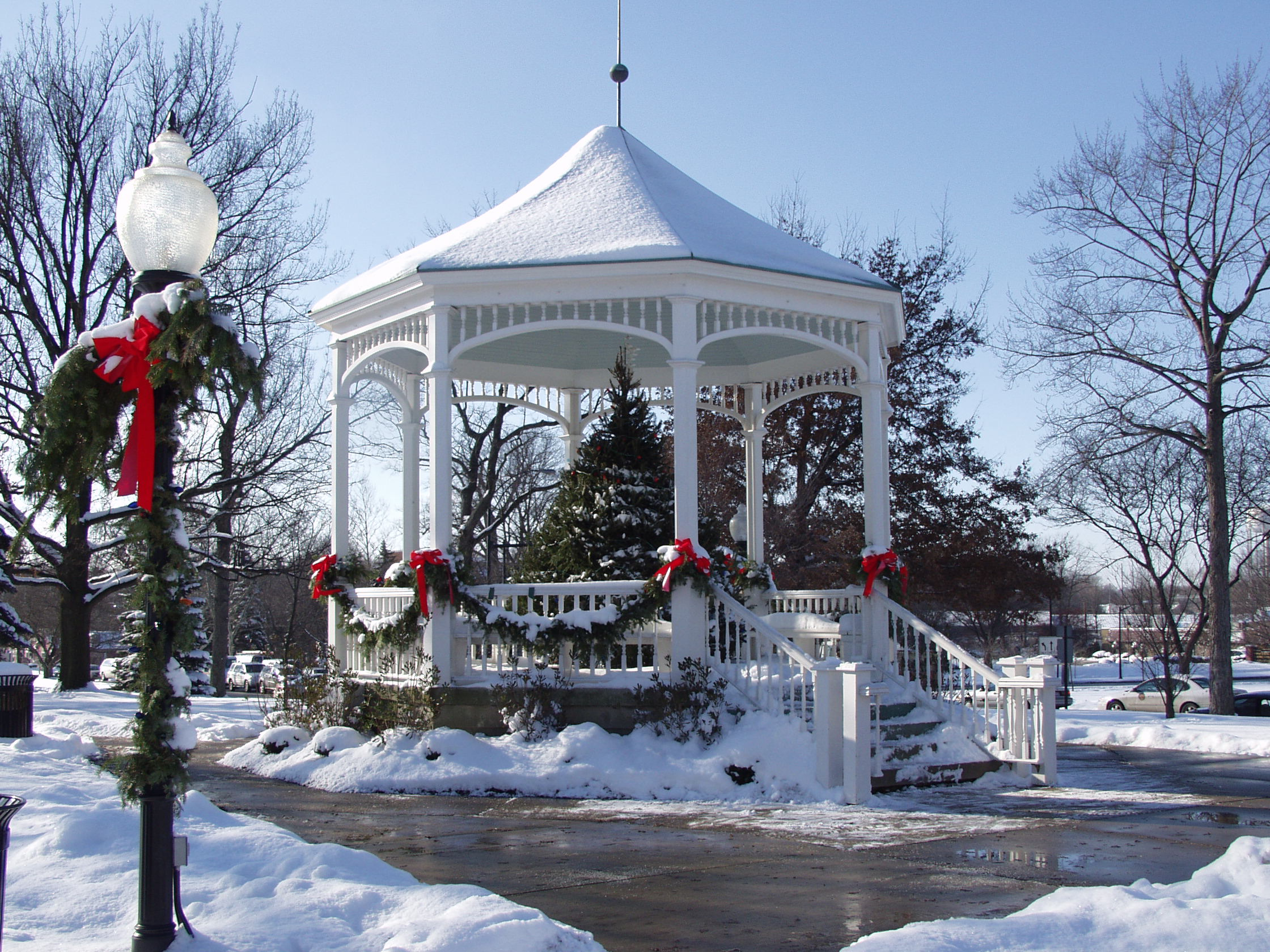 Gazebo Winter