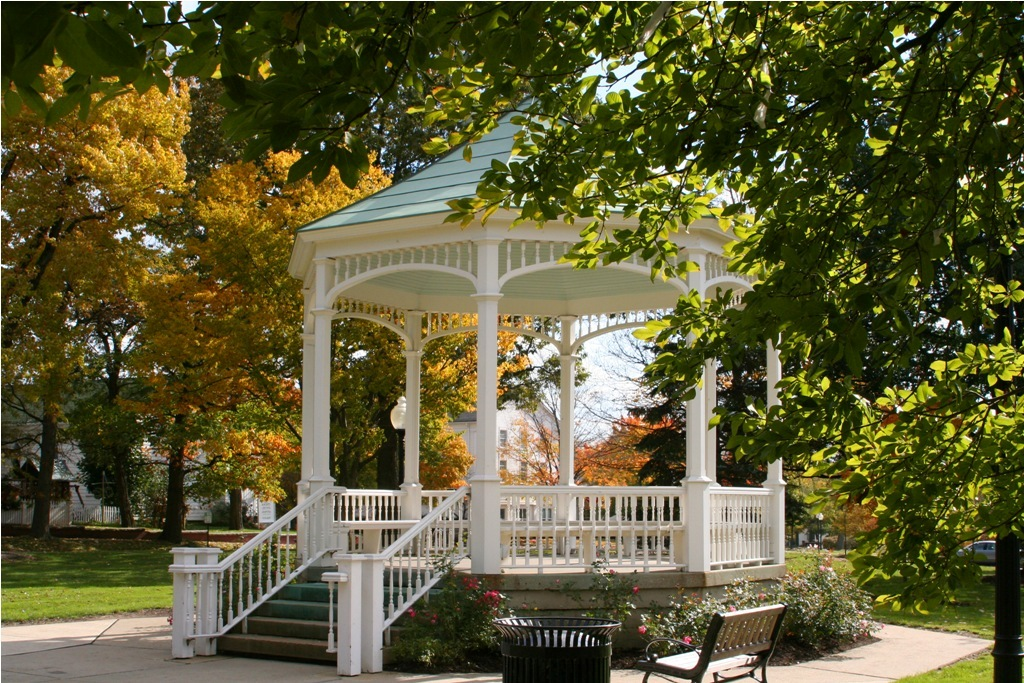 Gazebo early fall
