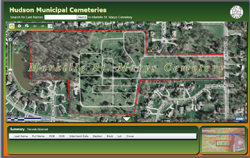 Click here to open the Cemetery Map